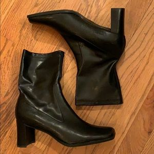 Black Aerosoles ankle boots booties 9